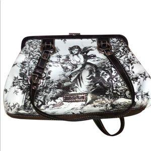 Isabella Fiore leather shoulder bag